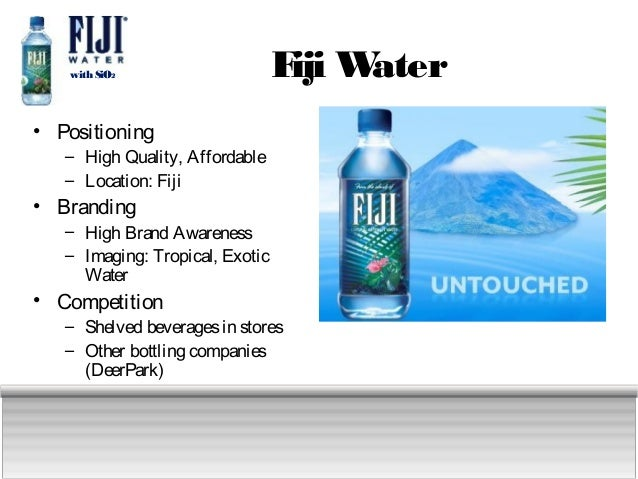 competition in the bottled water industry