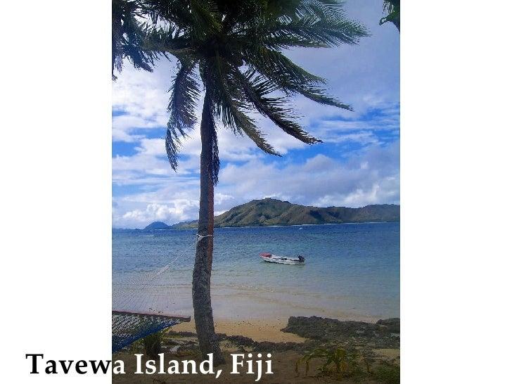 Tavew a   Island, Fiji