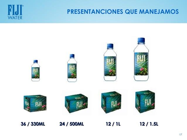 PRESENTANCIONES QUE MANEJAMOS36 / 330ML   24 / 500ML   12 / 1L   12 / 1.5L                                                17