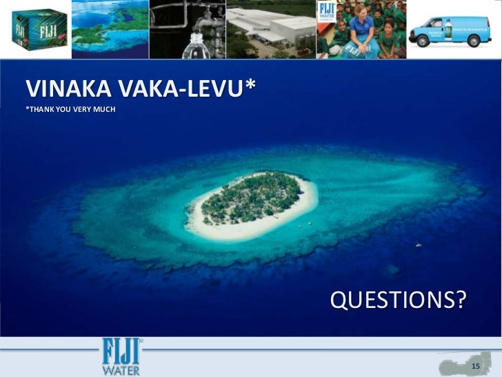 fiji water and corporate social responsibility case study Fiji water case study analyses international marketing strategy case study fiji water and corporate social responsibility - green makeover or greenwashing published this.