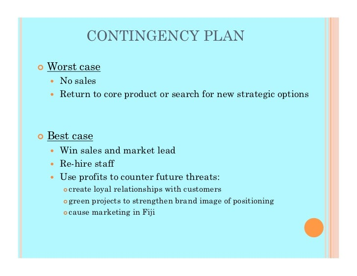 Doc638903 Business Contingency Plan Sample Doc638903 Business – Business Contingency Plan Sample
