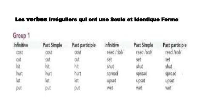 Deux Techniques Pour Apprendre Les Verbes Irreguliers