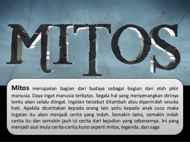 Fiksi Dan Mitos Dalam Sejarah