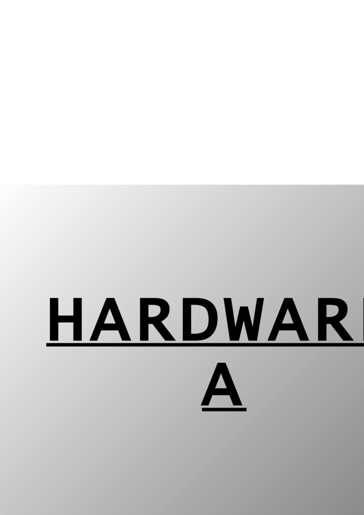 HARDWAREA