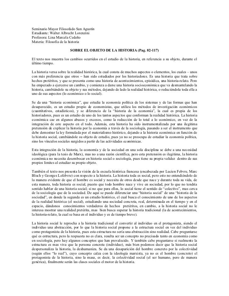 Seminario Mayor Filosofado San AgustínEstudiante: Walter Albrecht LorenziniProfesora: Lina Marcela CedeñoMateria: Filosofí...