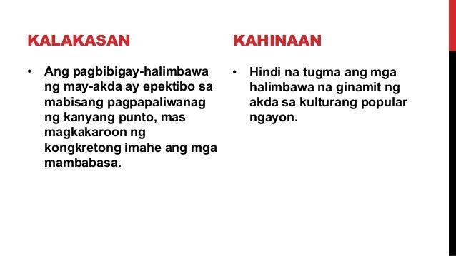 halimbawa ng essay na tagalog