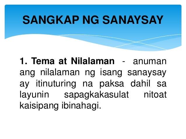 halimbawa ng di pormal na sanaysay sa tagalog Sukat 2 mga elemento ng tula 1 ang pantig ay tumutukoy sa paraan ng pagbasa ang sanaysay na di-pormal o palagayan ay tila nakikipag-usap, pansarili ang himig at may.