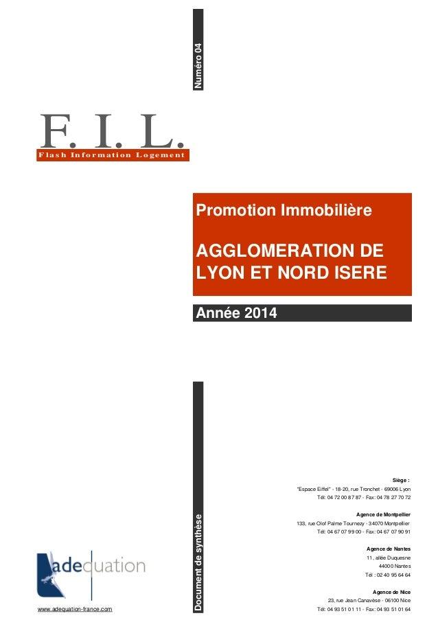 """Siège : """"Espace Eiffel"""" - 18-20, rue Tronchet - 69006 Lyon Tél: 04 72 00 87 87 - Fax: 04 78 27 70 72 Agence de Montpellier..."""