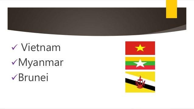  Vietnam Myanmar Brunei