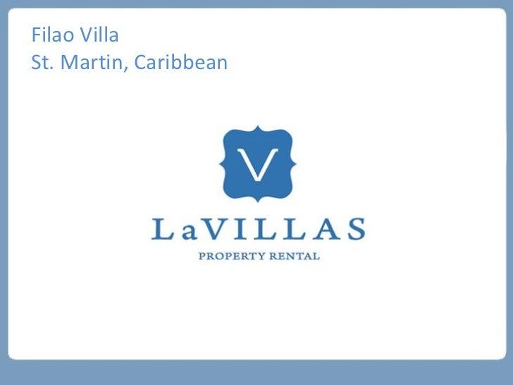 Filao VillaSt. Martin, Caribbean
