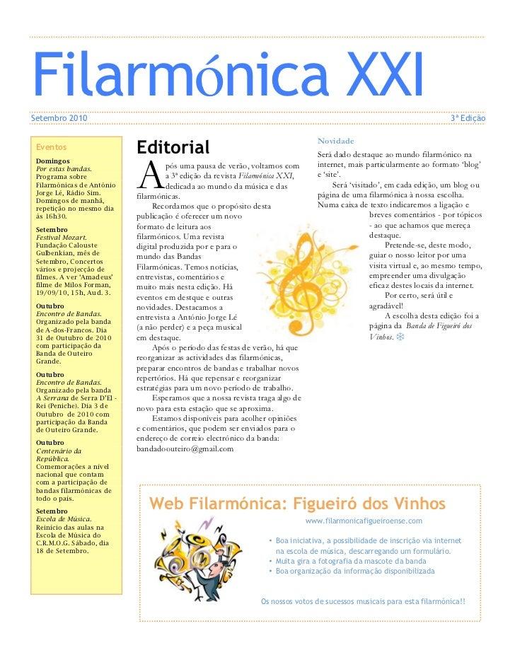 Filarmónica XXISetembro 2010                                                                                              ...