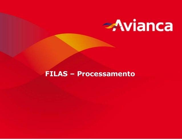 1 FILAS – Processamento