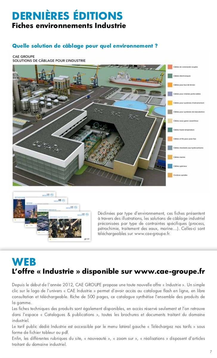 dernières éditionsFiches environnements IndustrieQuelle solution de câblage pour quel environnement ?                     ...
