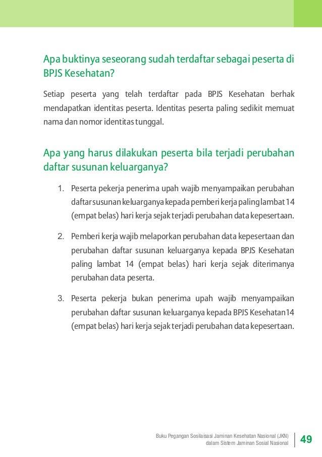 Apa buktinya seseorang sudah terdaftar sebagai peserta di BPJS Kesehatan? Setiap peserta yang telah terdaftar pada BPJS Ke...
