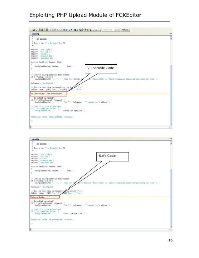 File upload-vulnerability-in-fck editor