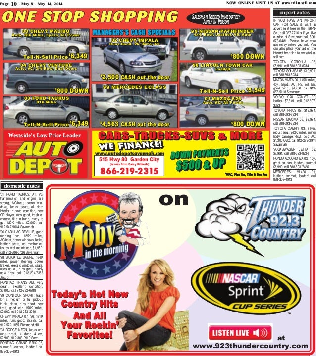 Free issue may 8 may 14 2014 tell n sell for Carey hilliards in garden city