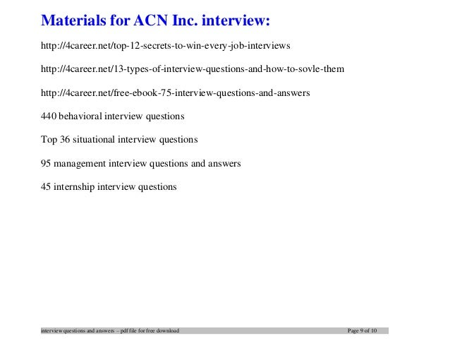 networking interview questions and answers pdf