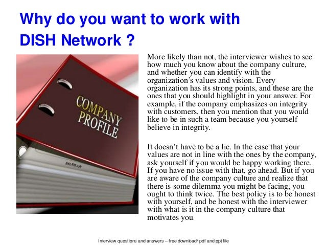 Dish network interview questions and answers personality 5 solutioingenieria Gallery