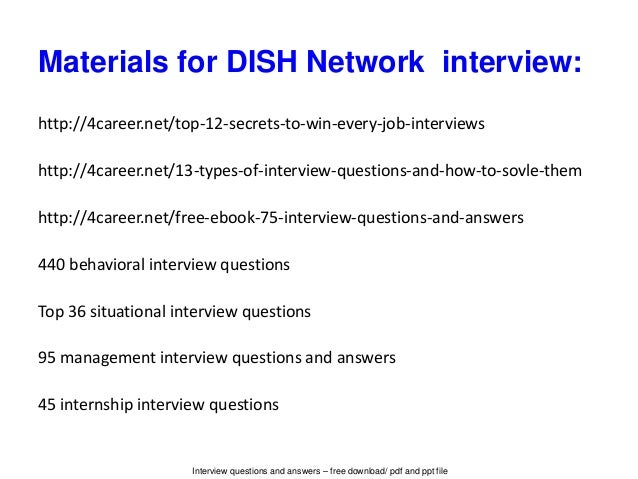 Dish Network Cover Letter