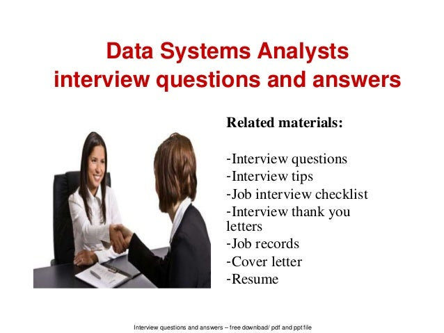 data analyst interview questions and answers pdf free download