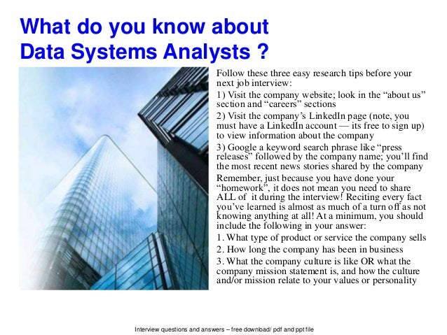 interview questions and answers - Data Analyst Interview Questions And Answers