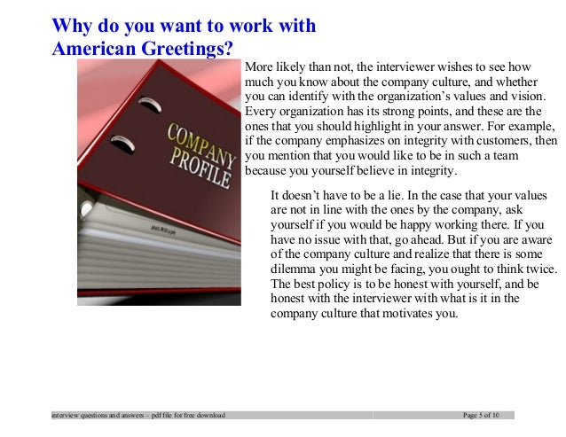 American greetings interview questions and answers 5 m4hsunfo