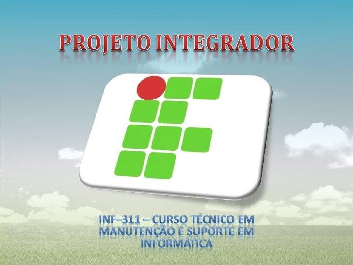 Projeto Integrador.