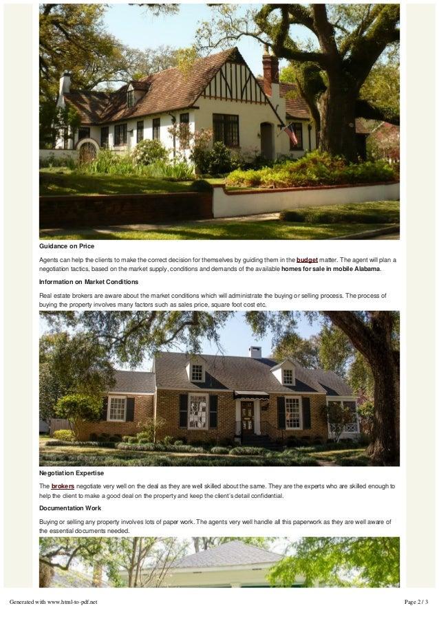 Mobile Alabama Real Estate