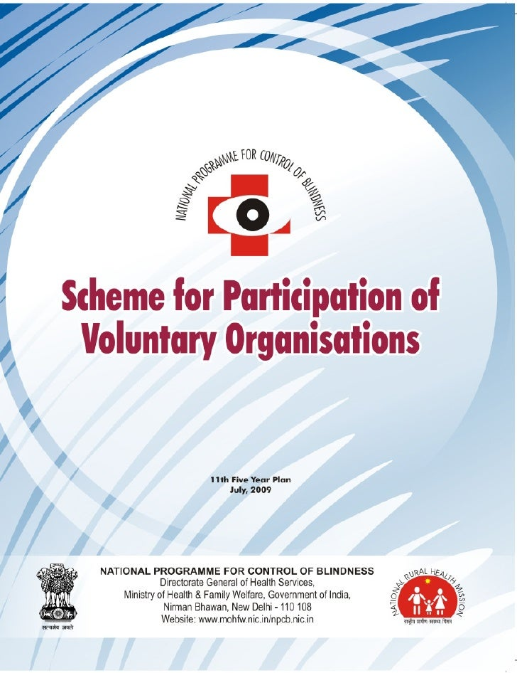 SCHEME FOR PARTICIPATION OF   Voluntary Organisations                                                        Scheme for Pa...