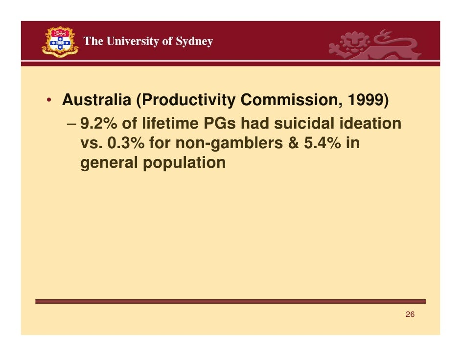 Australia productivity commission gambling online palace casino