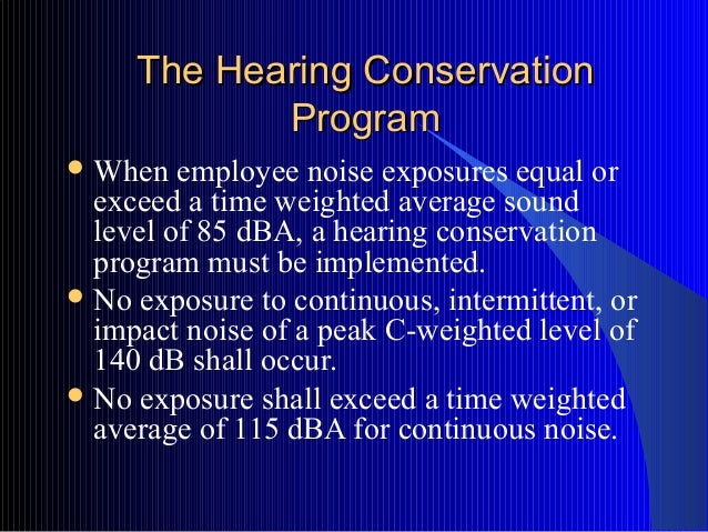 Hearing Conservation Training by BGSU