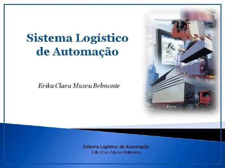 Sistema de Automação à Logística