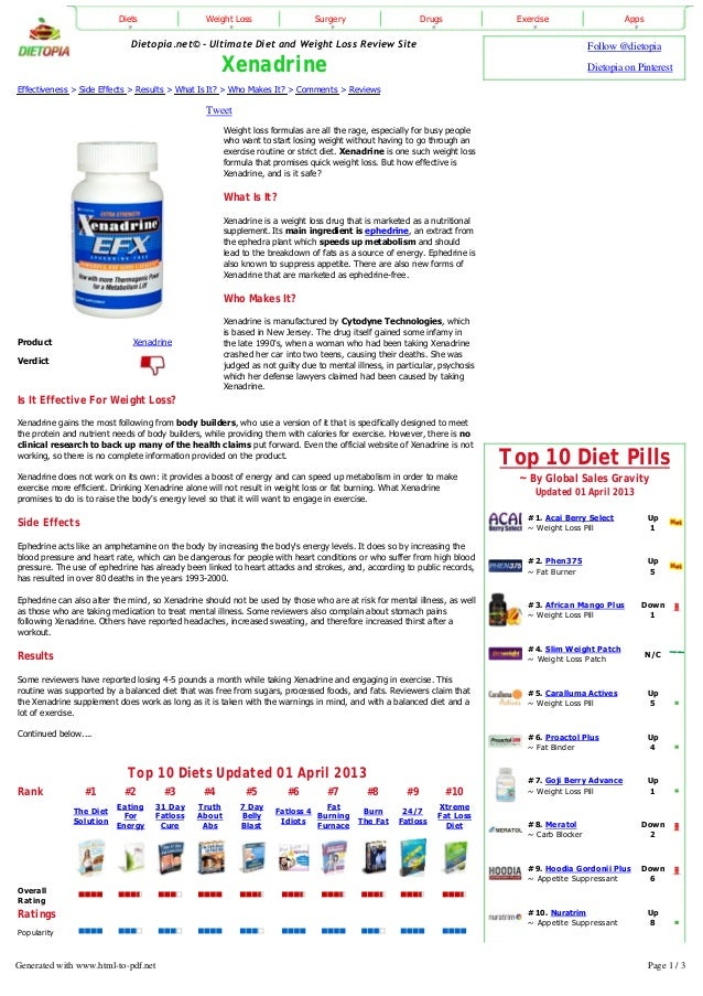Top 10 Diet Pills~ By Global Sales GravityUpdated 01 April 2013#1. Acai Berry Select~ Weight Loss PillUp1#2. Phen375~ Fat ...