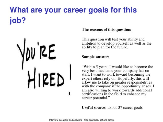 Lovely Interview Questions ...