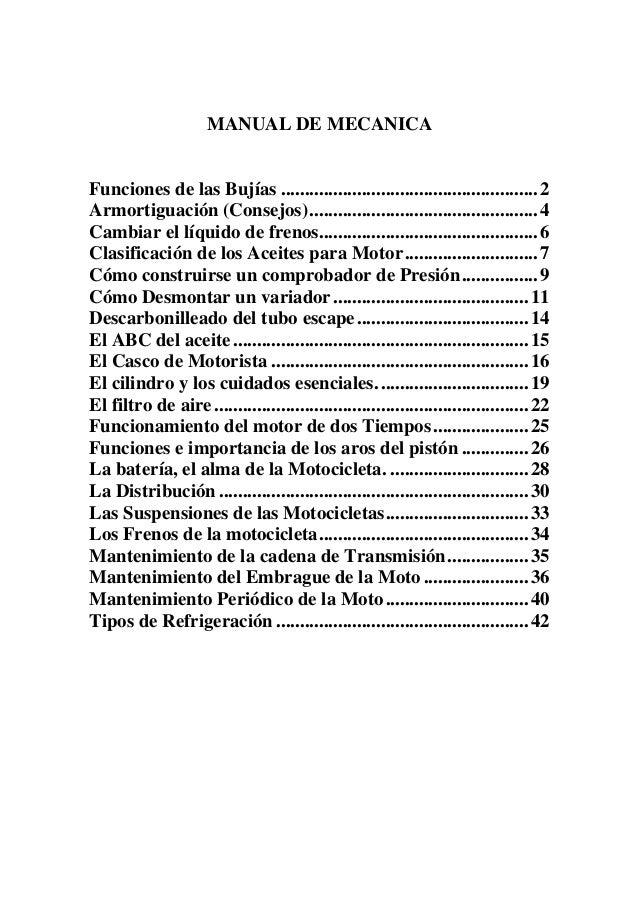 MANUAL DE MECANICA DE MOTOS 4T PDF DOWNLOAD