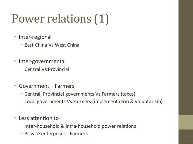 What Are Power Relations and Who Is Affected by Them?