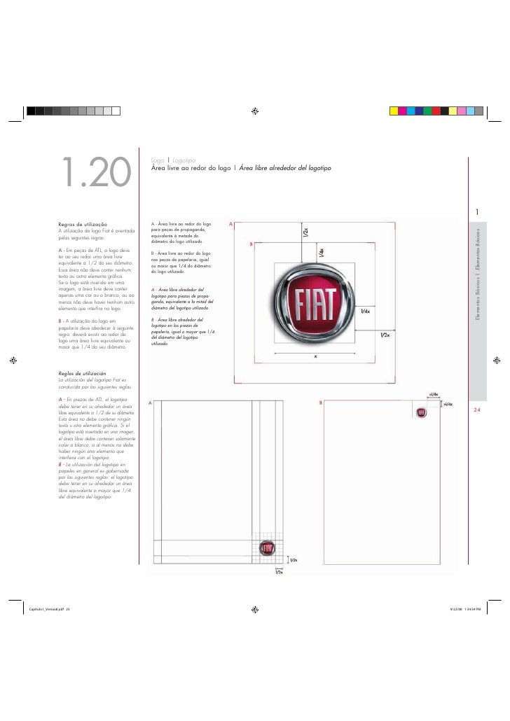 Manual de identidade Visual Fiat