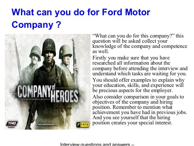 Ford Motor Company Interview Questions   Glassdoor Dialogues