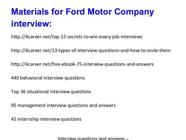 Ford Assessment Centre   Aptitude Tests Preparation   JobTestPrep JobTestPrep