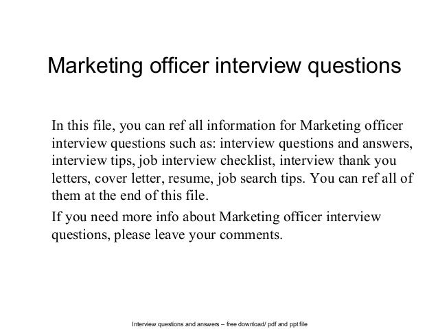 safety officer interview questions and answers pdf download