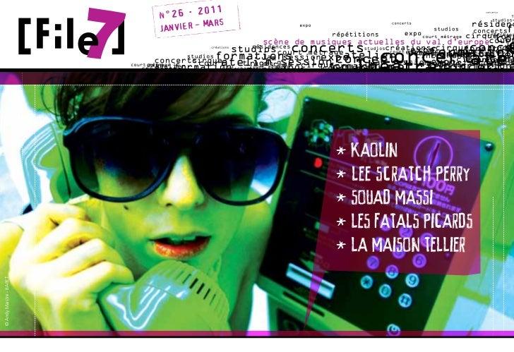 . 2011                             n°26                                        MARS                              JANVIER -...