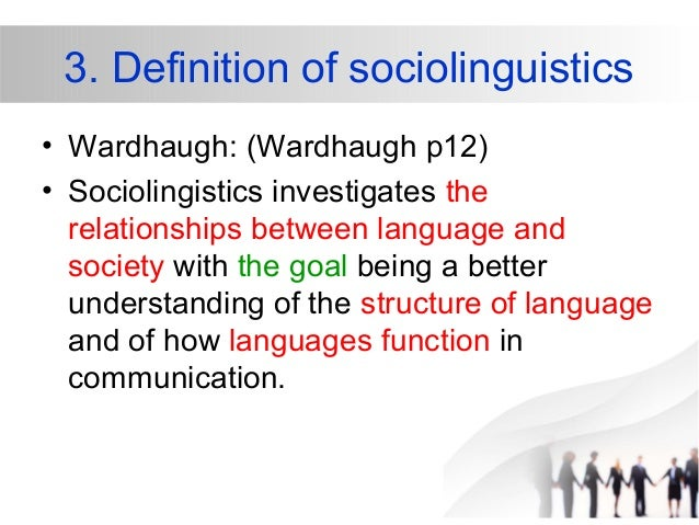 role of language in human society