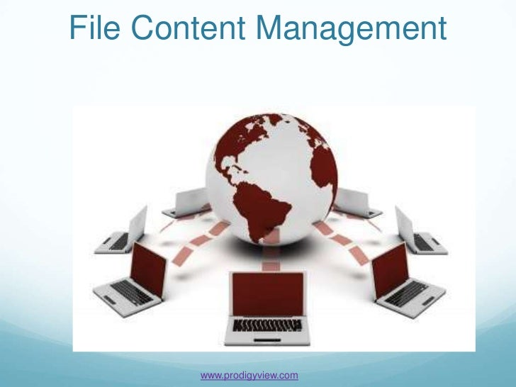File Content Management        www.prodigyview.com