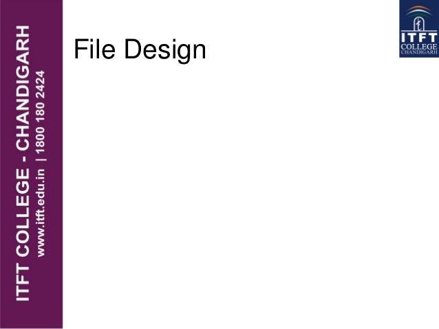 File Design