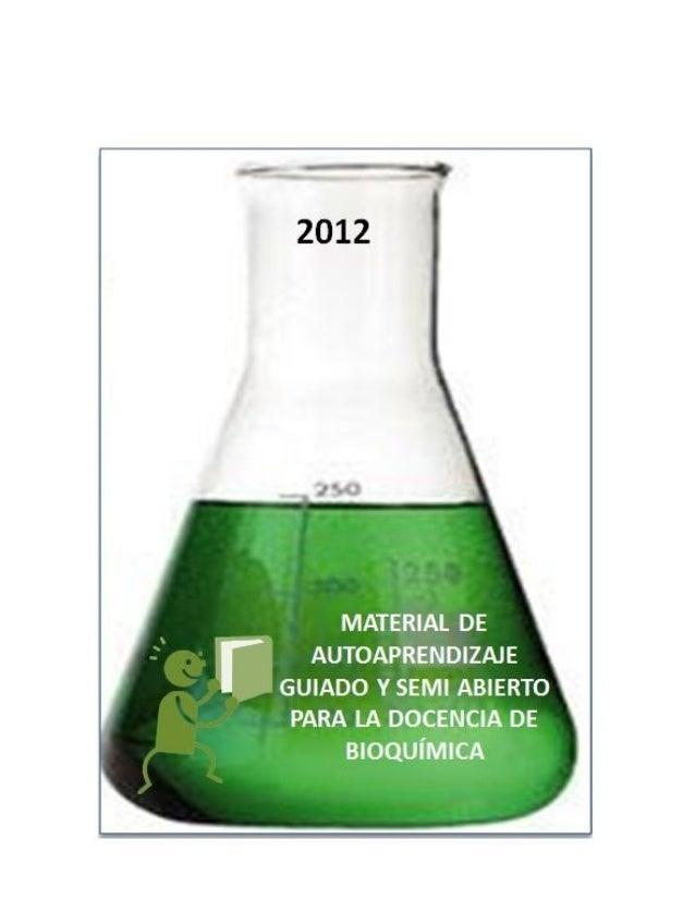 Tabla de Contenidos 1.0 INTRODUCCIÓN AL MATERIAL DOCENTE 2.0 INSTRUCCIONES DE USO 3.0 BIOQUÍMICA EXPERIMENTAL: FOTOMETRÍA ...