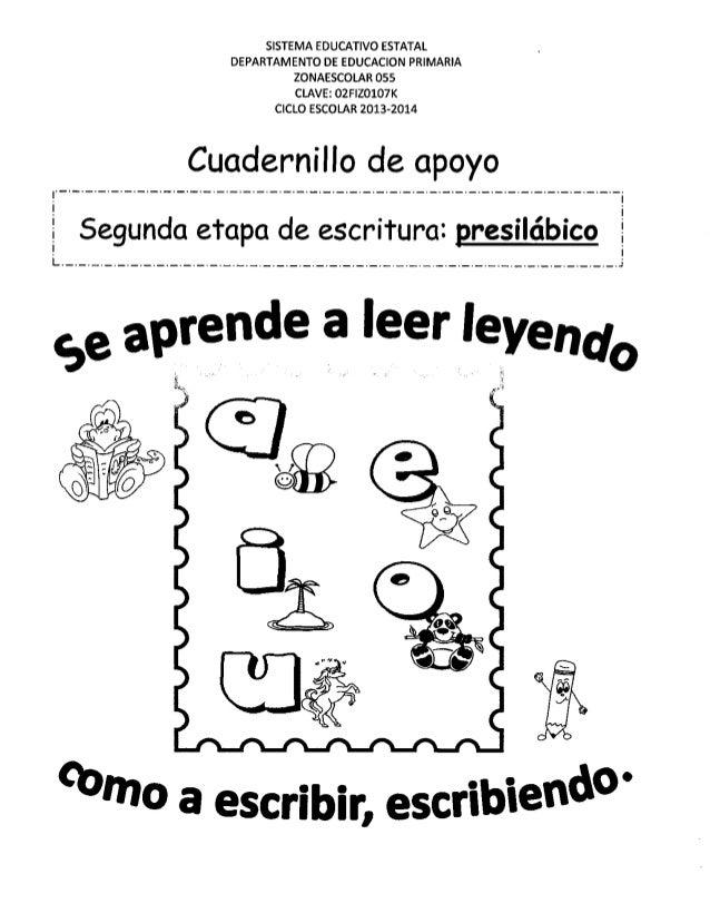 SISTEMA EDUCATIVO EST L DEPARTAMENTO DE EDU O IMARIA ZONAESCOLA 5  CLAV:  F| Z0107K CICLO ESC LAR 2013-2014 Cuadernillo de...