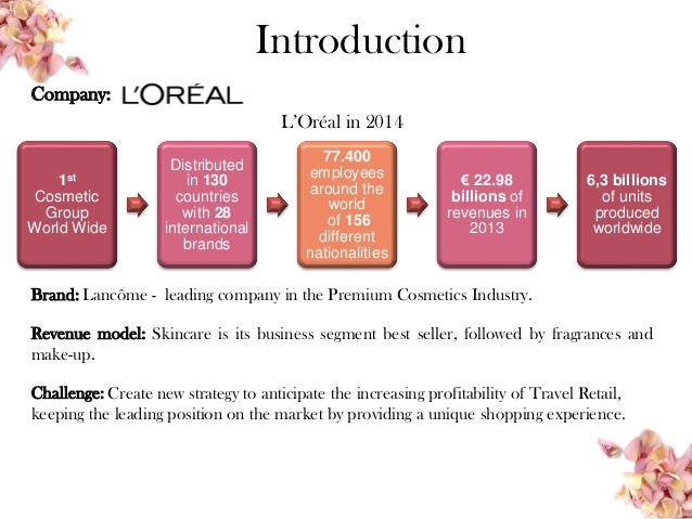 cosmetic products business plan