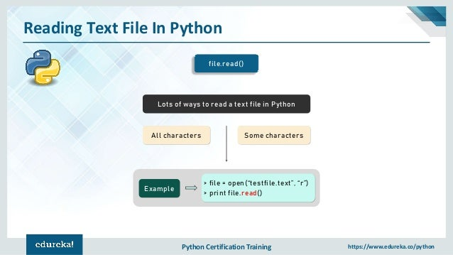 Python File Handling | File Operations in Python | Learn python progr…