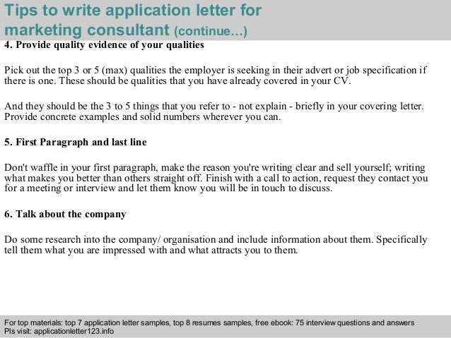 Application Letter Legal Consultant