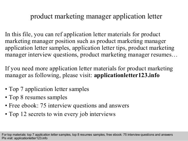 Product development engineer cover letter.